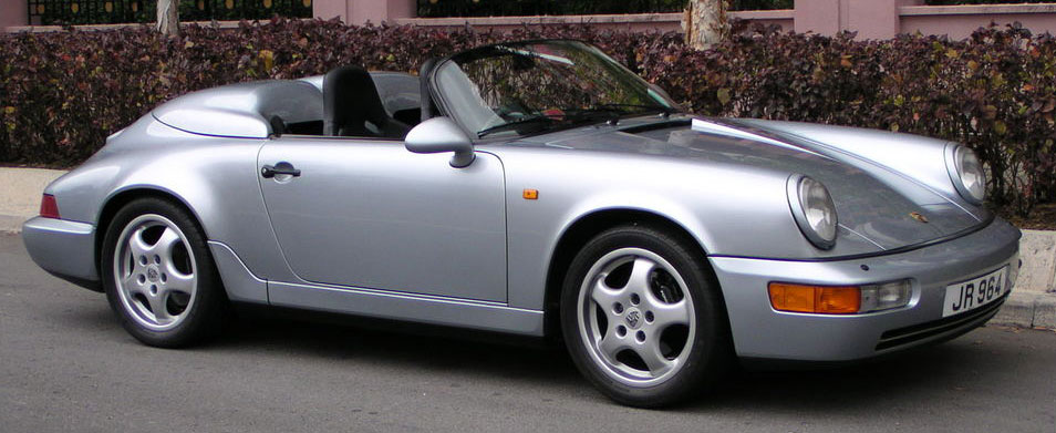 The 911 Carrera 2 964 Speedster On Speedsters A Site