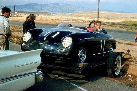 steve mcqueen and his speedster speedsters a site dedicated to all aspects of porsche. Black Bedroom Furniture Sets. Home Design Ideas