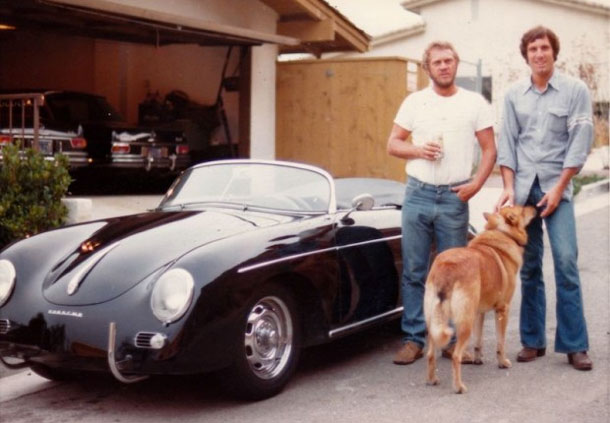 Steve Mcqueen And His Speedster Speedsters A Site